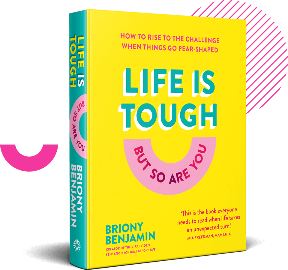 Life Is Tough But So Are You Book